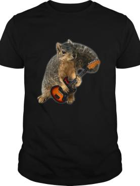 Squirrel Playing Guitar shirt