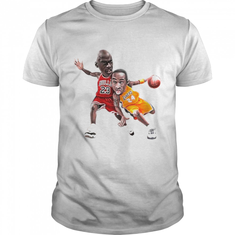 Lebra James and Kobe Bryant 2021 Classic Mens T shirt