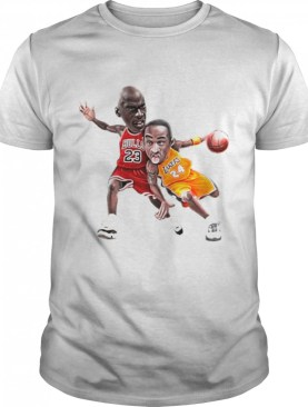 Lebra James and Kobe Bryant 2021shirt