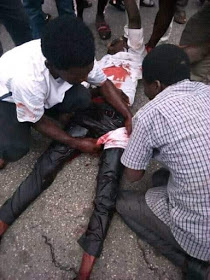 Shi'ite protesters and police clash again in Abuja (photos)