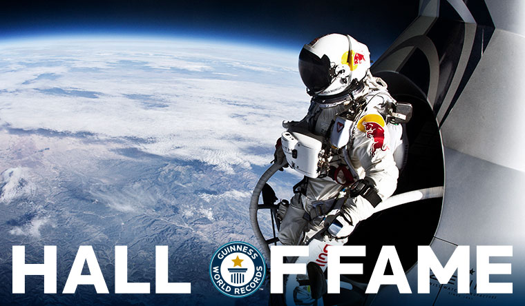 Felix Baumgartner: First person to break sound barrier in freefall