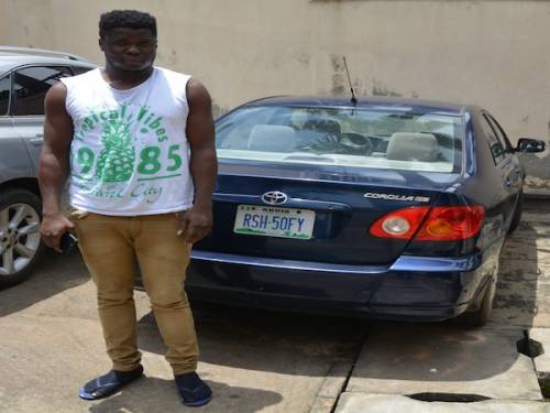 Laptops, Car Recovered As EFCC Arrests Suspected Yahoo Boys