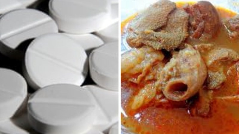 Why Food Vendors use Paracetamol to Cook Meat