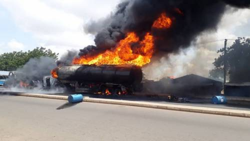 Death Toll In Niger Tanker Explosion Rises To Six
