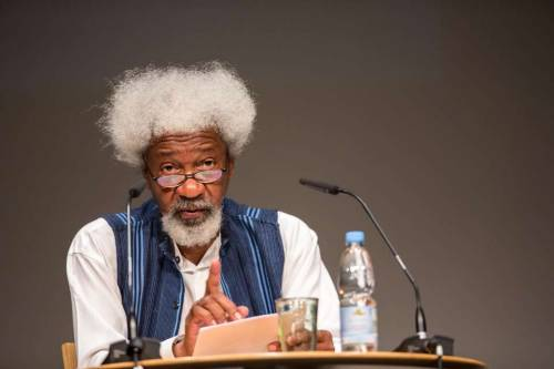 Soyinka: There Are Names In This Country I'll Never Mention Again