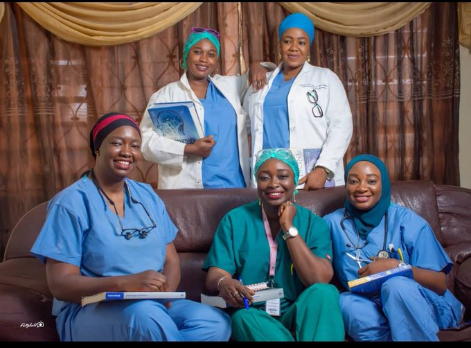 Inspiring: Meet The Aliu Family Where The 5 Sisters Are All Doctors