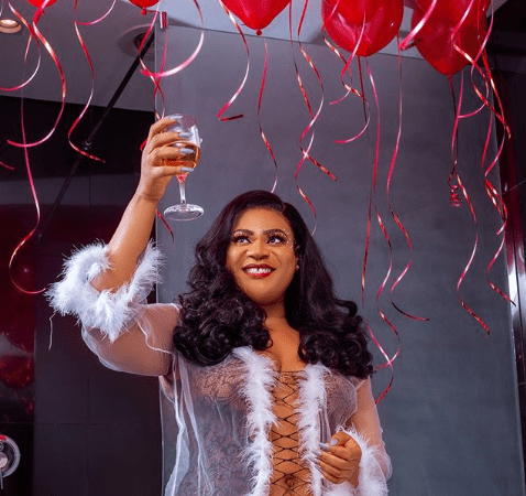 It's A Valentine Birthday: Actress Nkechi Blessing Shares Beautiful Photos To Mark Her Day
