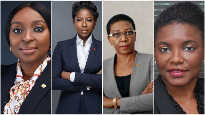[PHOTOS,PROFILE) Meet The Four Women Who Were Recently Appointed To Top Positions At Transcorp Nigeria