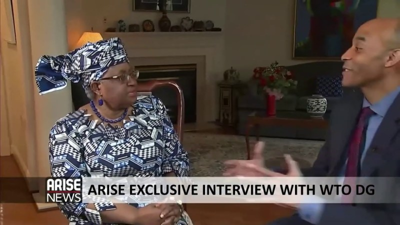 Ngozi Okonjo-Iweala talks about her Appointment as Director-General of the WTO