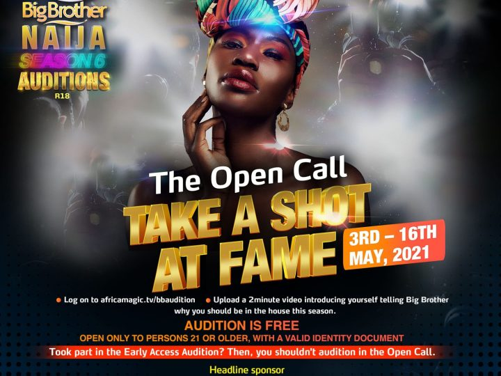 It's Another Opportunity for You to be a Superstar – All You Need to Know About #BBNaija Season 6 Auditions