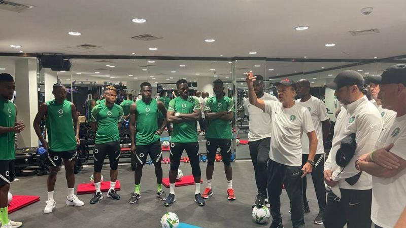 Super Eagles: Details behind the drama at Eko Hotel gym