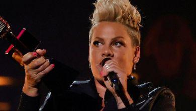 US pop star Pink has
