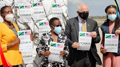 Tanzania gets 1,000,000 Janssen Covid antibodies from the US