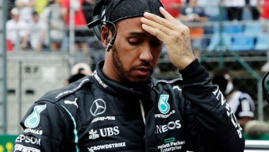 Lewis Hamilton has revealed he may be suffering