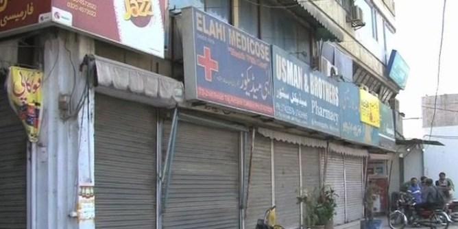 medical stores close