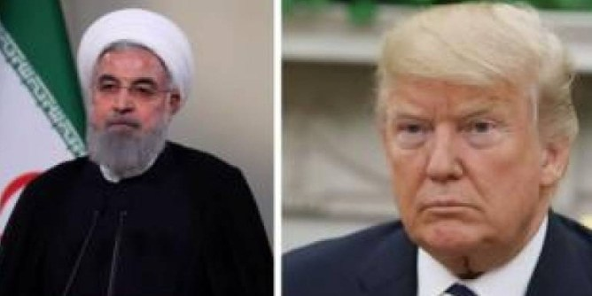 trump and rohani