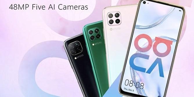 Huawei Nova 7i phone