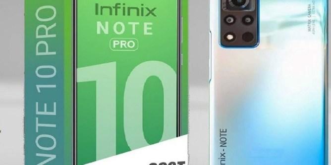 Infinix Note 10 Pro mobile
