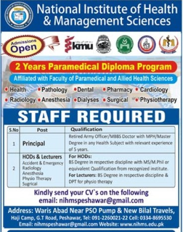 Jobs in National Institute of Health2018