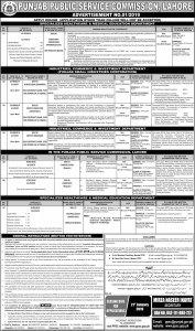 Jobs in Punjab Public Service Commission 2019