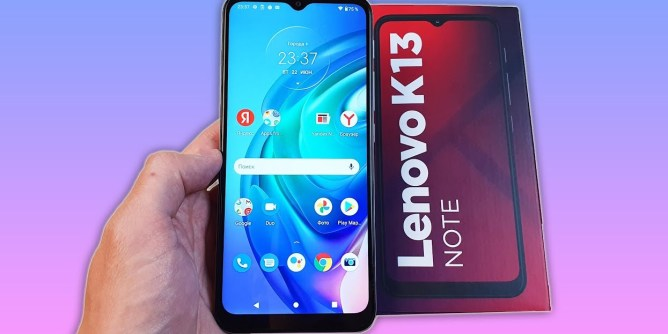 Lenovo K13 Note mobile