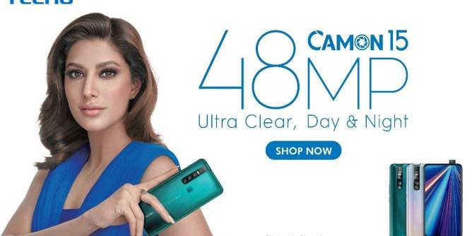Tecno Camon 15 mobile
