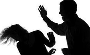 husband beaten his wife