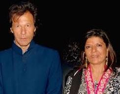 imran khan with aleema khan