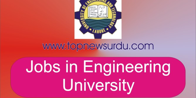 jobs in engineering university