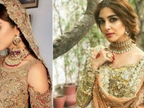 maya ali bridal shoot