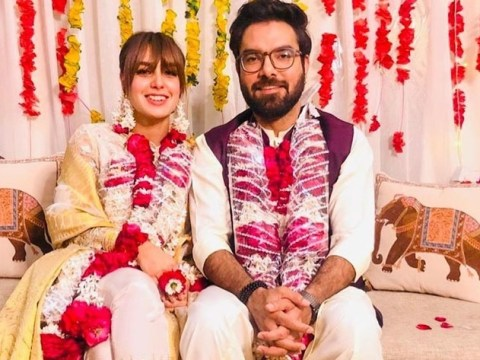 yasir hussain and iqra aziz wedding