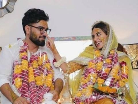 yasir hussain iqra aziz marriage pics