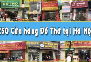 Cửa hàng đồ thờ tại Hà Nội
