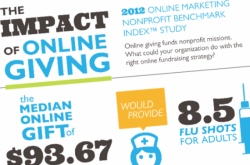 Impact of Online Giving Infographic