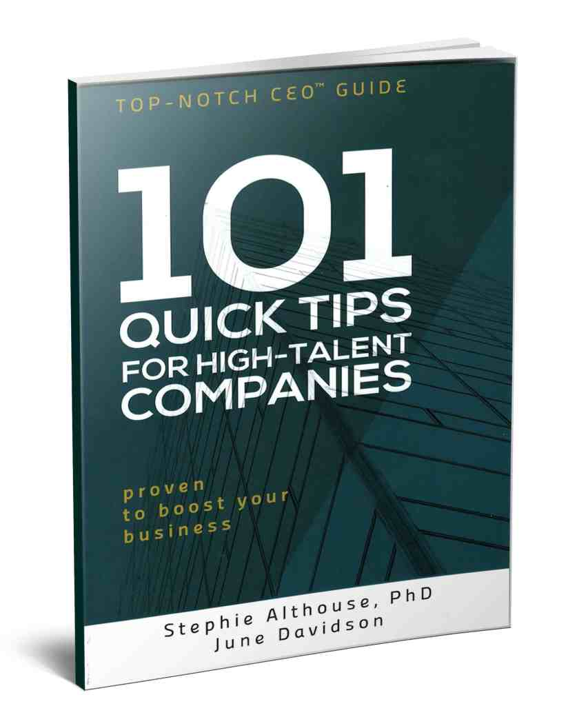 101 Quick Tips for High-Talent Companies