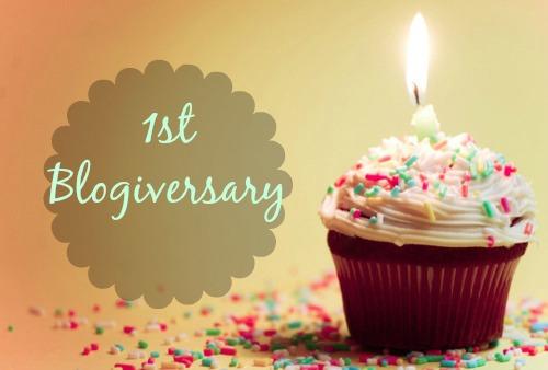 Happy Blogiversary to Us
