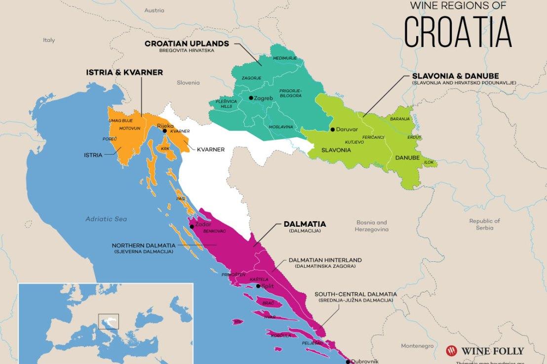 New Shipment of Croatian Wines!