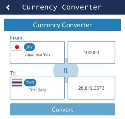 อัตราแลกเปลี่ยนเงิน TOPTENHOTEL