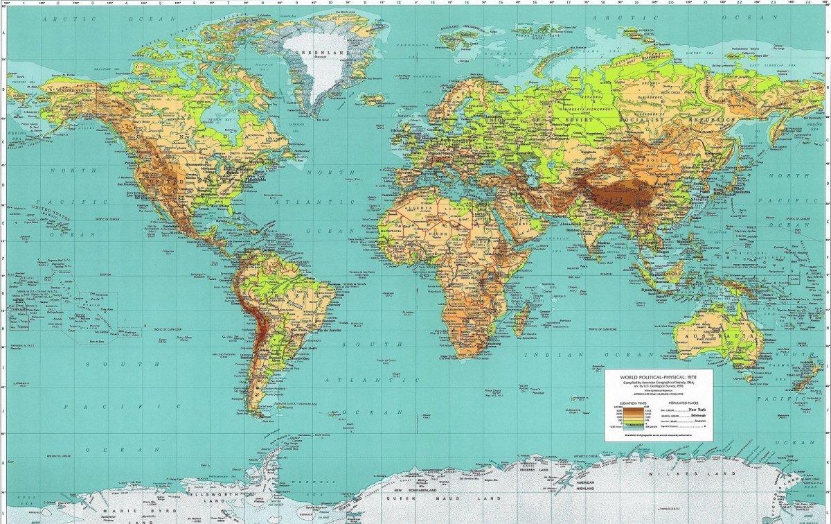 Descarga diferentes mapas de España, de Europa y del mundo