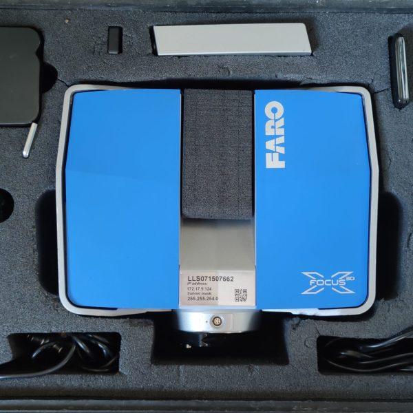 Scanner laser Faro Focus X330.