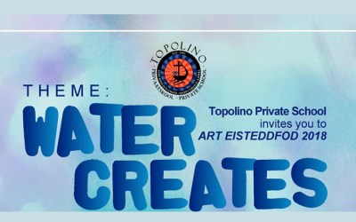 Topolino invites you to the Art Eisteddfod 2018