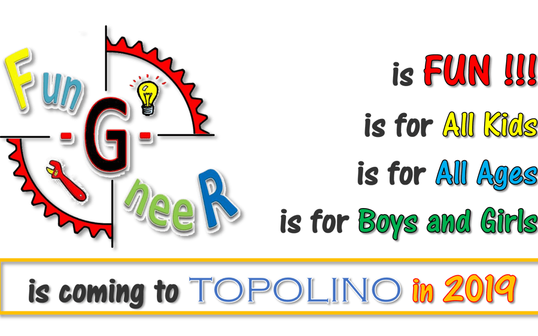 Coming to Topolino in 2019 Fun-G-neeR on the Horison