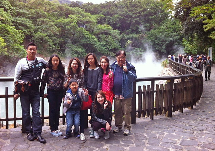 Taiwan as A Present Full of Love – Thai Family's Taiwan Trip