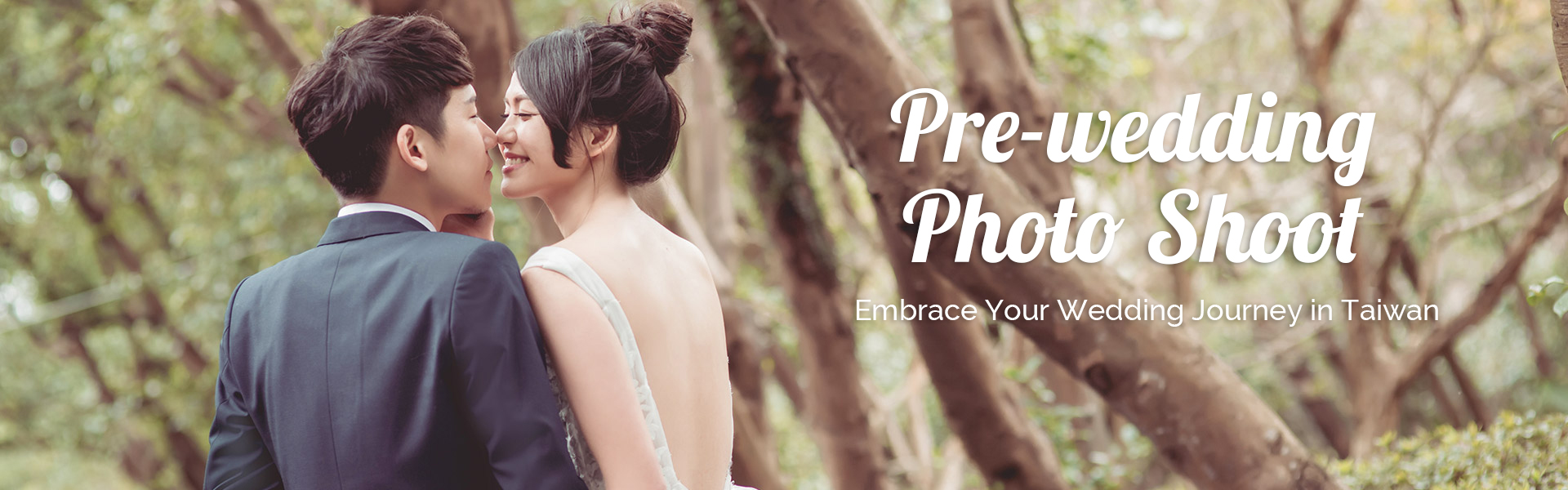 Pre-wedding photography in Taiwan