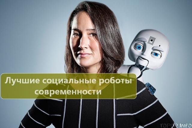 Лучшие социальные роботы современности