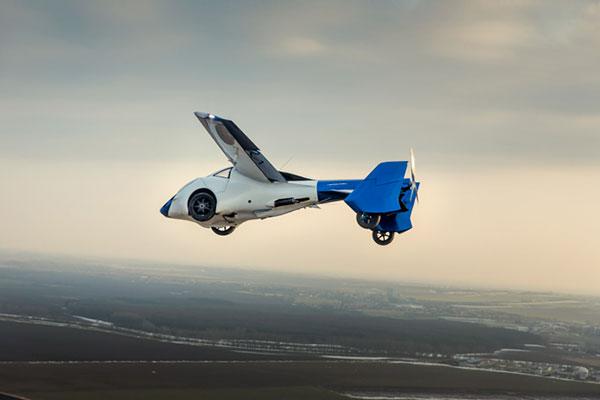 AeroMobil 3.0 в полёте
