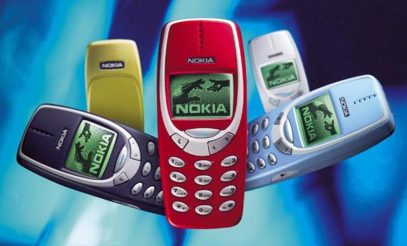 Nokia 3310 в разных цветах