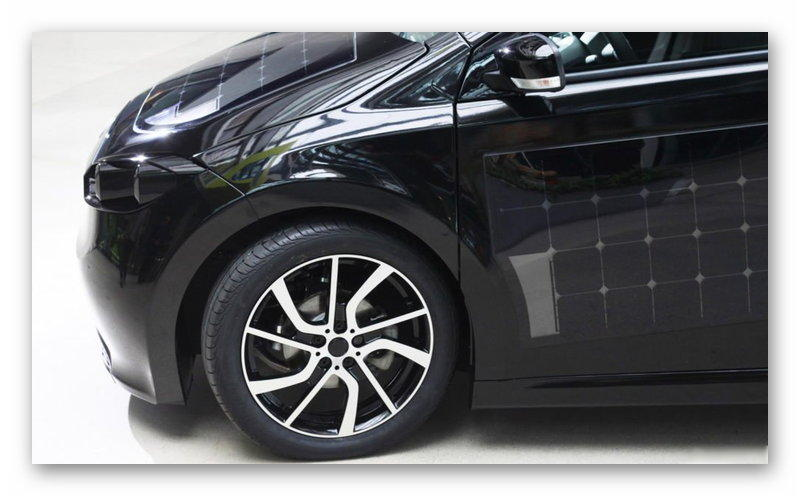 Sono Motors Sion: переднее колесо