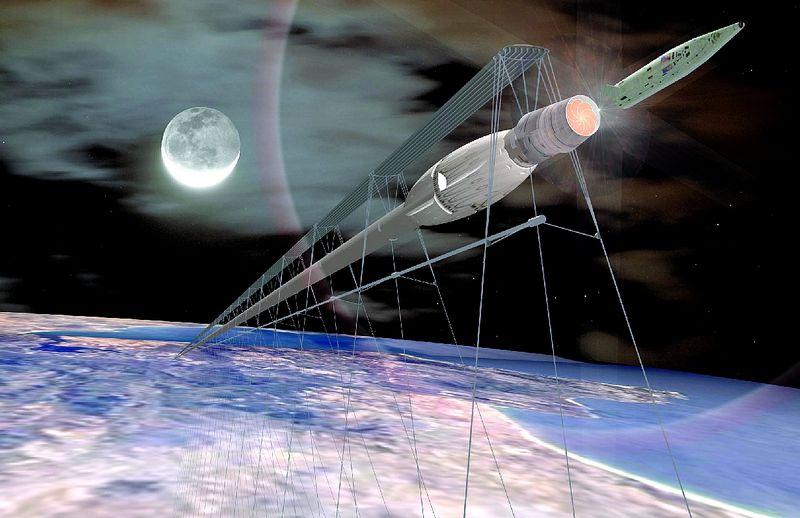 Концепт космического поезда