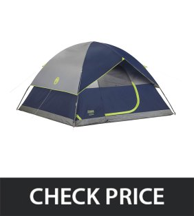 Coleman Sundome 6 person tent reviews